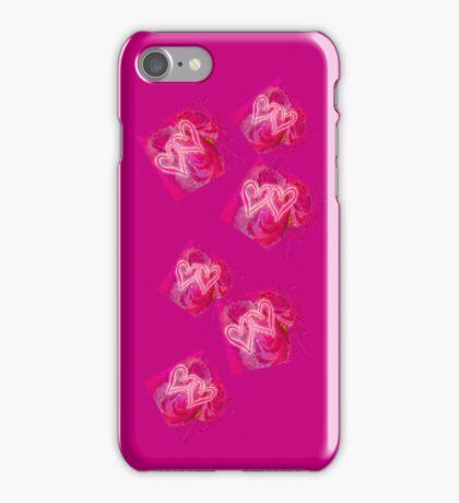 VALENTINE`S DESIGN. BE HAPPY!!! iPhone Case/Skin