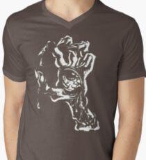 handed zombies Men's V-Neck T-Shirt
