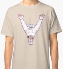 Y is for 'Ya Did It' Yeti Classic T-Shirt