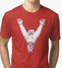 Y is for 'Ya Did It' Yeti Tri-blend T-Shirt
