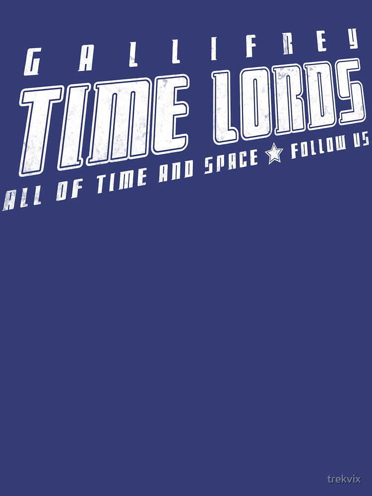 Gallifrey Time Lords (just words) by trekvix