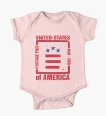 Postage Paid USA One Piece - Short Sleeve