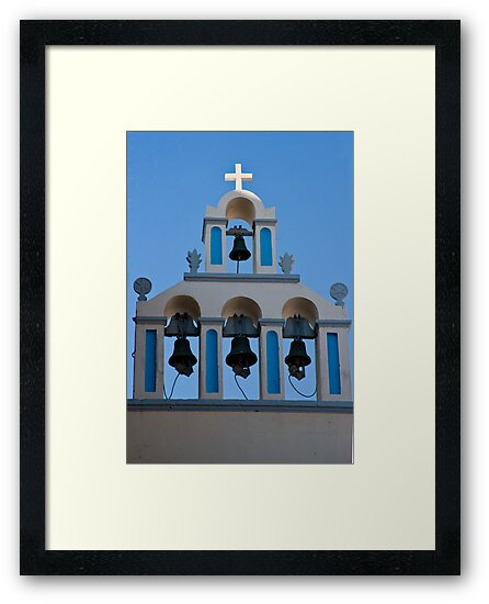 Four Bells And A Cross by phil decocco