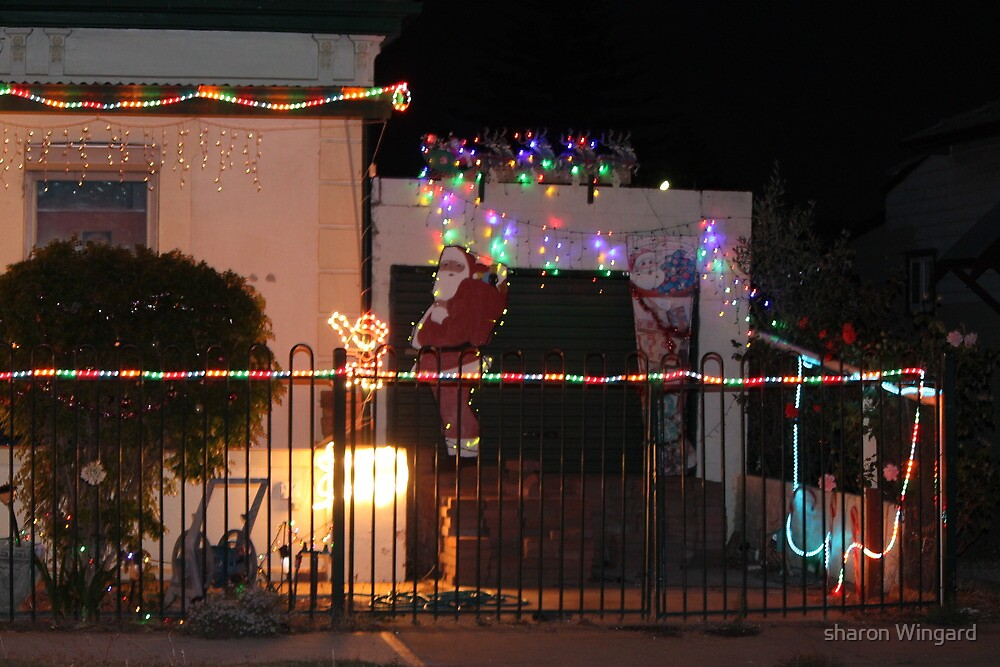 christmas lights by sharon Wingard