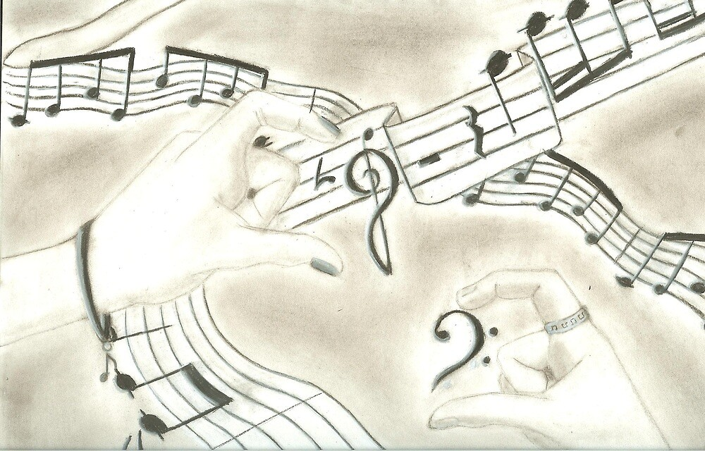 The Love For Music by xunknowntalentx
