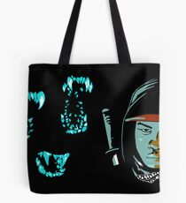 Moses vs The Monsters Tote Bag