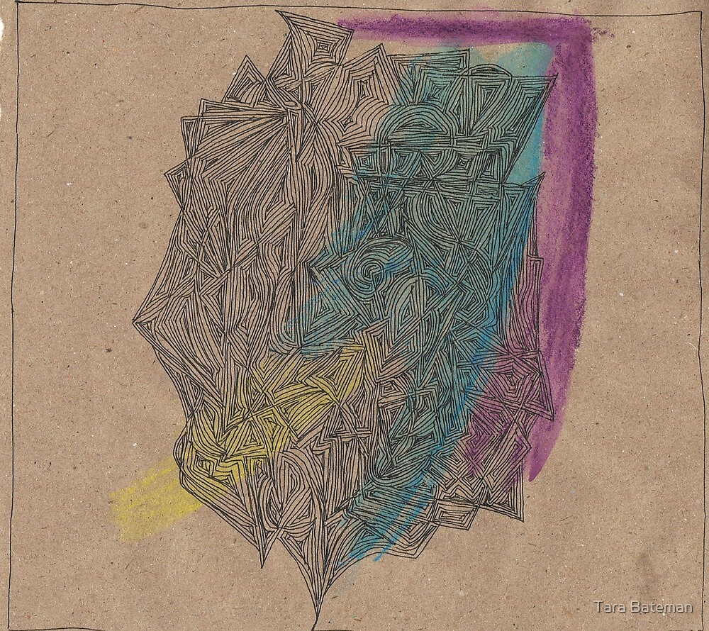 Abstract of Your Face by Tara Bateman