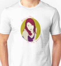 Felicia Day is My Queen Unisex T-Shirt