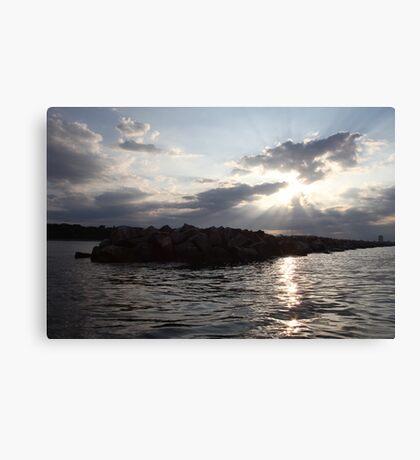South Shore Clouds  Canvas Print