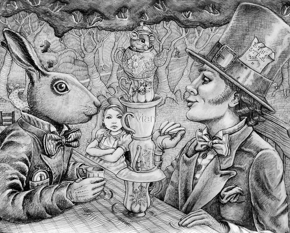 a mad tea party by vian