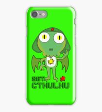 Sergeant Cthulhu (English version) iPhone Case/Skin