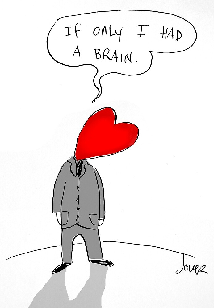 brainless heart by Loui  Jover