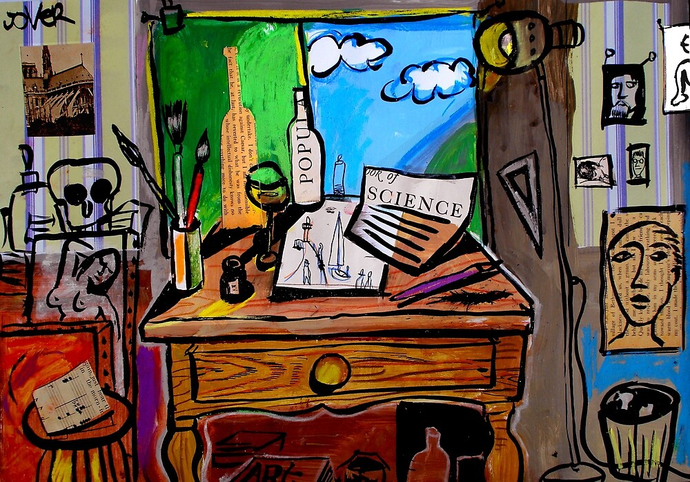studio glimpse by Loui  Jover