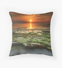 """Greenfield Sunrise"" ∞ Vincentia, NSW - Australia Throw Pillow"
