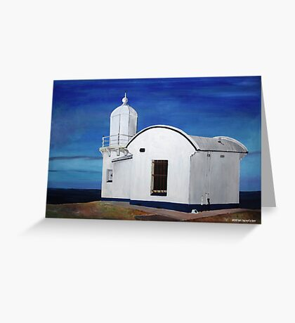 Tacking Point Lighthouse Greeting Card