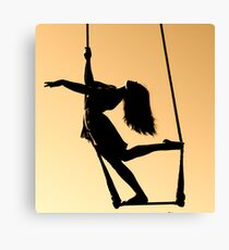 Trapeze Over Norway Canvas Print