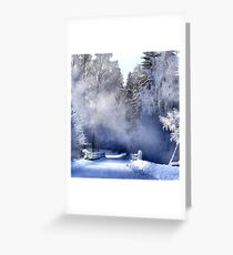 Bridge Over Trouble Water  Greeting Card
