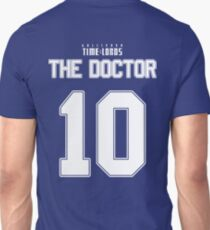 Team Tennant (The Doctor Team Jersey #10) Unisex T-Shirt