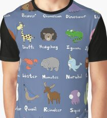 The Animal Alphabet Graphic T-Shirt