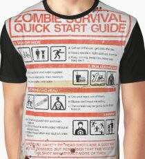 Zombie Survival - Quick Start Guide Graphic T-Shirt