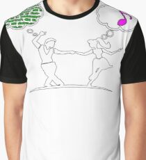 Top Dancing Graphic T-Shirt