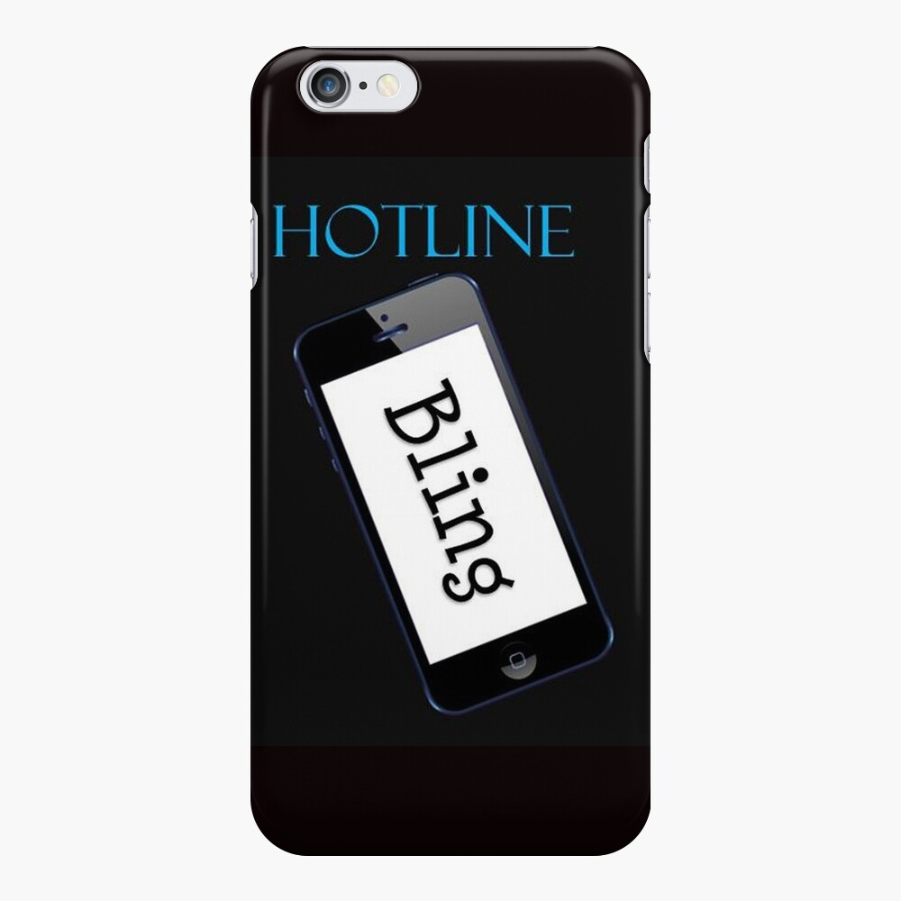 Hotline Bling Swag iPhone Case & Cover