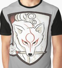 God Hound (without writing) Okami Graphic T-Shirt