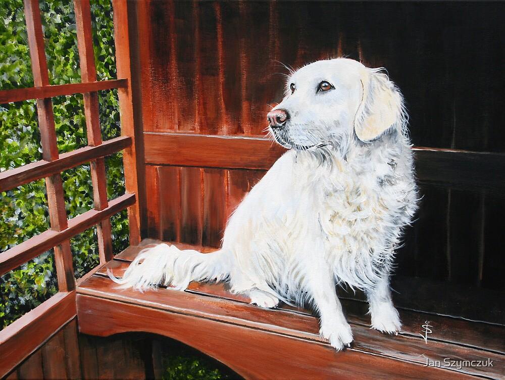 Lucy Waiting by Jan Szymczuk