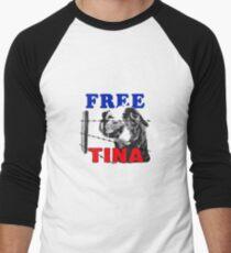 FREE TINA Men's Baseball ¾ T-Shirt