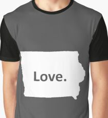 Iowa Love Graphic T-Shirt