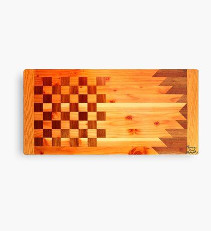 Woodworking Flag Metal Print