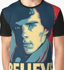 Believe in Sherlock Holmes Graphic T-Shirt