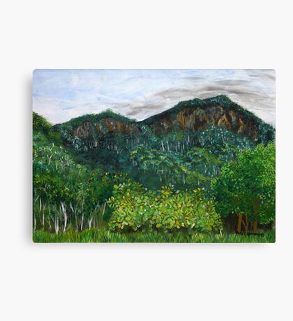 Lansdowne Escarpment Canvas Print