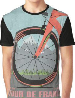 Tour De France Bike Graphic T-Shirt