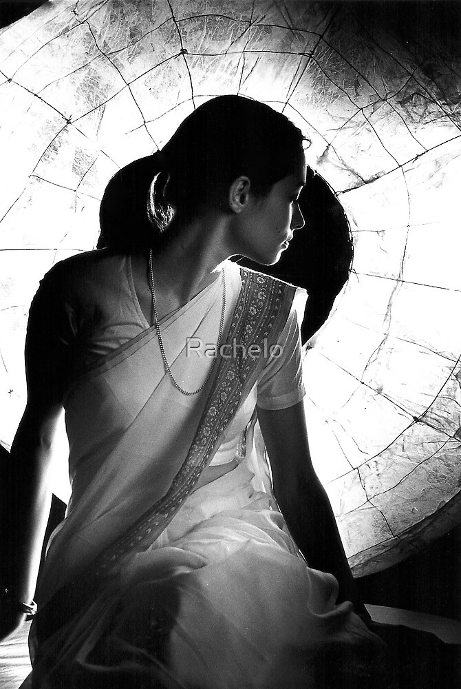Backlit Girl by Rachelo