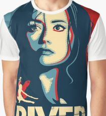 She Can Kill You With Her Brain Graphic T-Shirt
