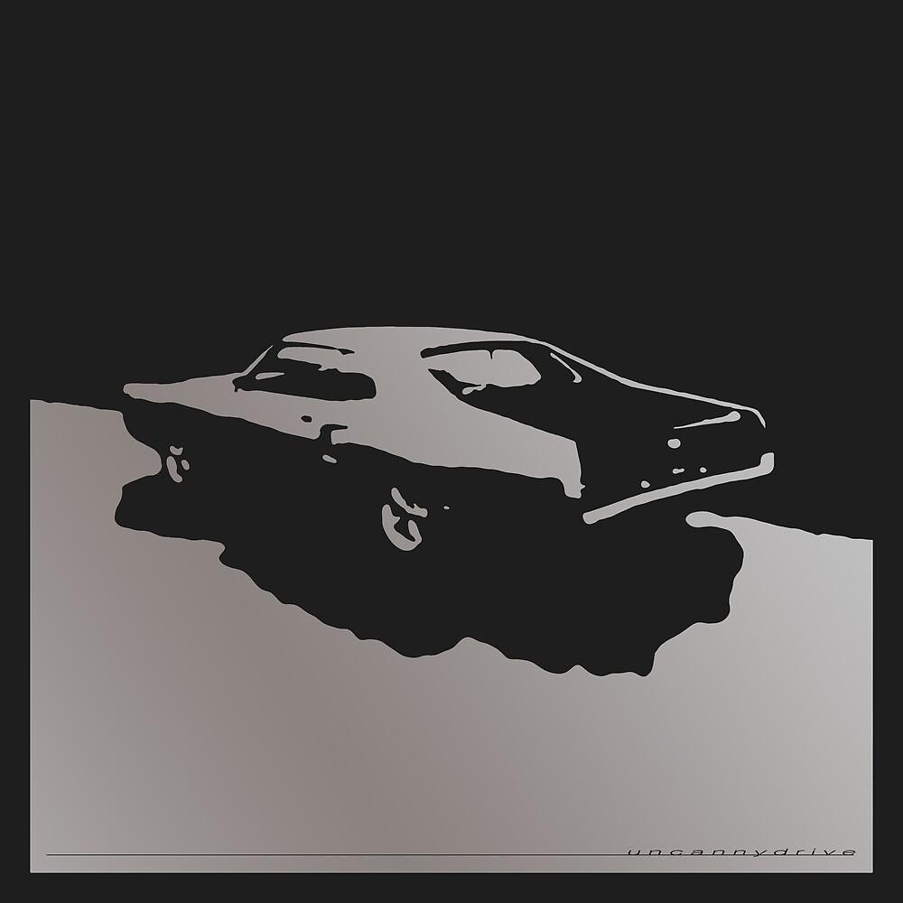Mercury Marauder,  1969 - Gray on black by uncannydrive