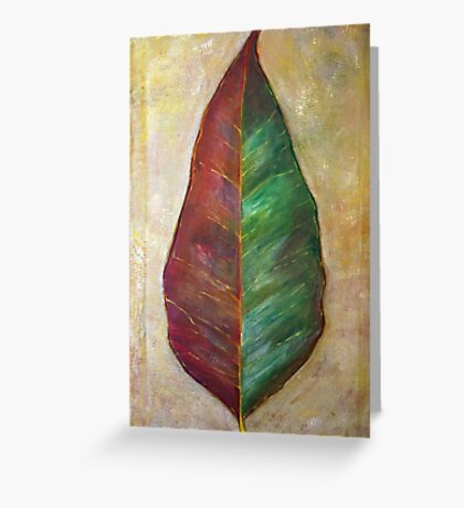 Gumleaf Greeting Card