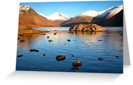 Wastwater Lake, Wasdale, Cumbria by Jan Fialkowski