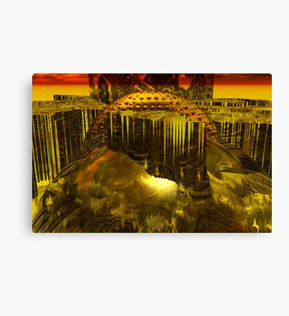 The Outbreak Canvas Print
