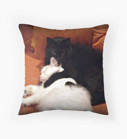 Opposites Attract - True Love Throw Pillow