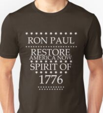 Ron Paul for President 2012 - Spirit of 1776 T-Shirt