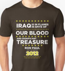 Iraq is in Flames - Ron Paul for President 2012 Unisex T-Shirt