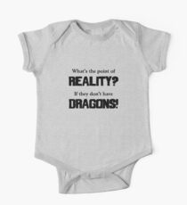 What's The Point of Reality? Kids Clothes