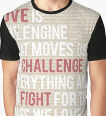 Love Is Engine Graphic T-Shirt