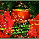 Christmas Greeting to the Group Members! by Carol Clifford