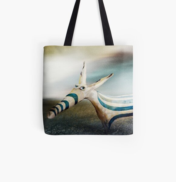 Alright I'm Different All Over Print Tote Bag