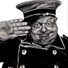 BENNY HILL as THE DOORMAN ! by Ray Jackson