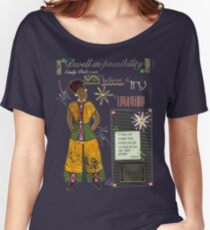 Dwell in Possibility T-Shirt Women's Relaxed Fit T-Shirt