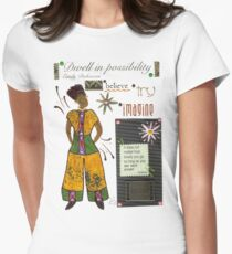 Dwell in Possibility T-Shirt Womens Fitted T-Shirt